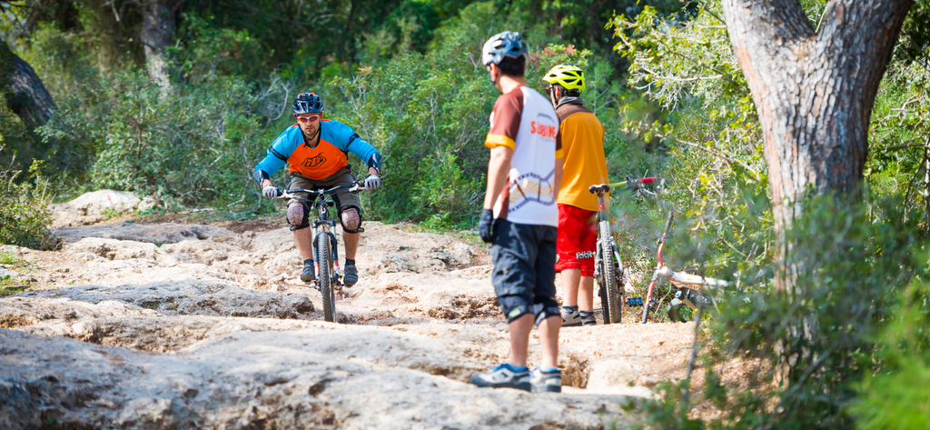 MTB technical skills coaching for groups