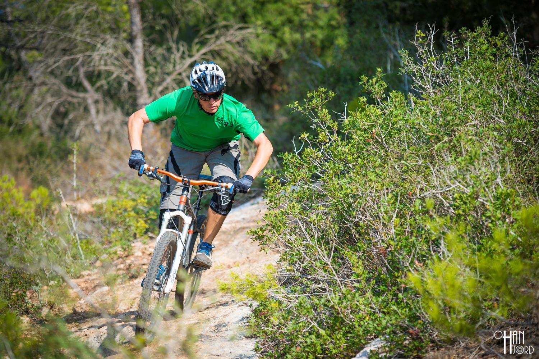 Mountain Bike Riding in Yaar Ofer, Israel
