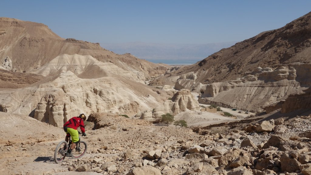 Awesome views towards the dead sea