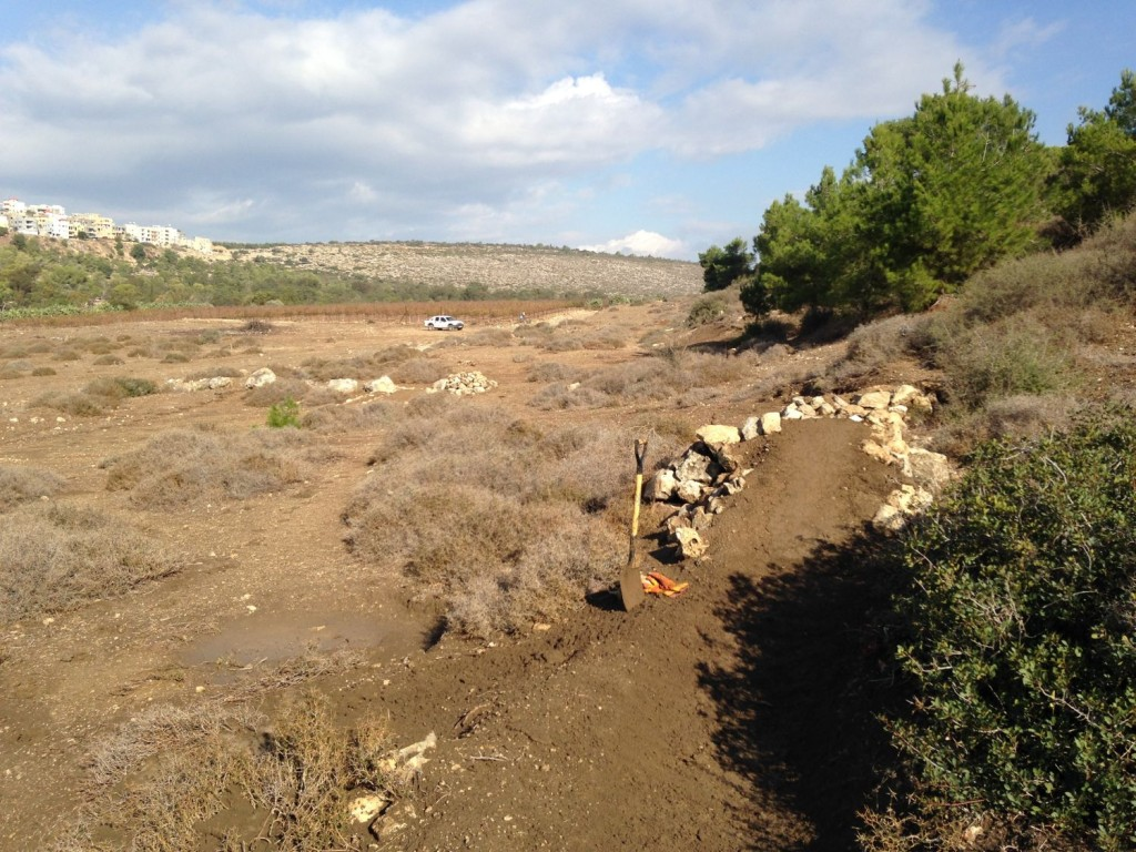 Trailbuilding in Israel
