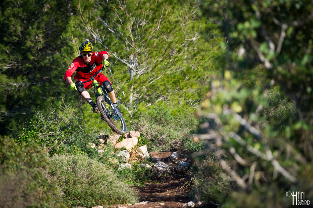 Capra - fit for the pro's: Bryan Regnier enduroing
